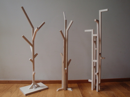 Вариации деревьев из фанеры