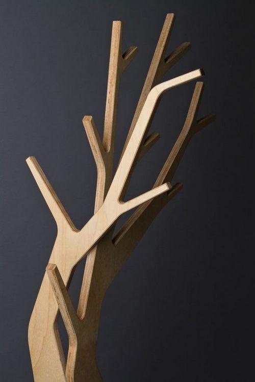 Ветки фанерного дерева