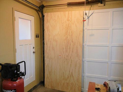 Готовая фанерная дверь