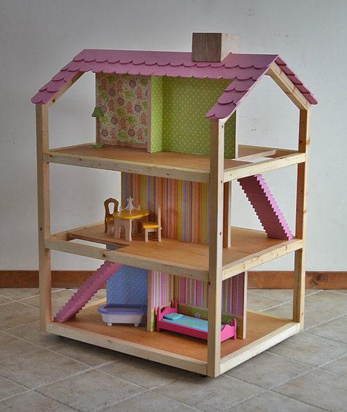 кукольный домик из фанеры своими руками пошаговая инструкция