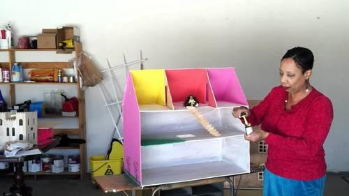 кукольный домик из фанеры своими руками пошаговая инструкция - фото 11