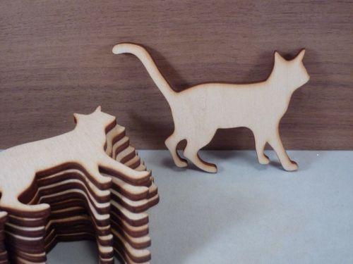 Коты и кошки из фанеры