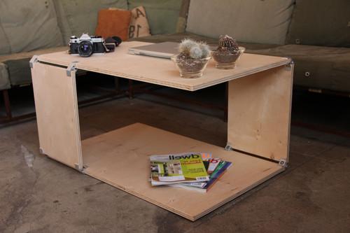 Простейший журнальный столик из фанеры