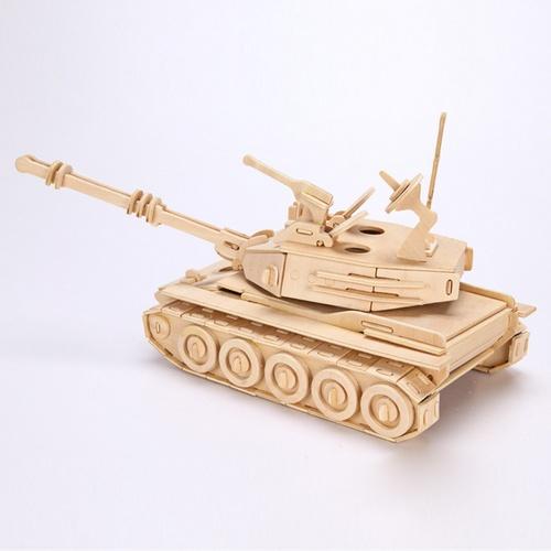 Модель танка из фанеры
