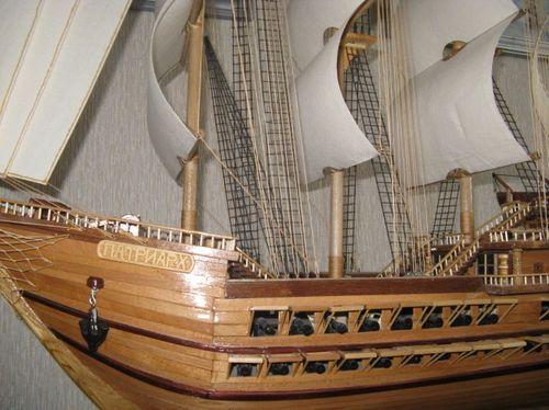 Красивый корабль